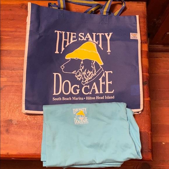 Hanes Tops - Salty Dog Cafe T-Shirt and Bag